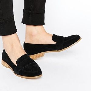 ASOS Suede Black Loafer
